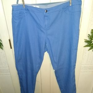 Oso Casuals 18W Reversible Blue Pants